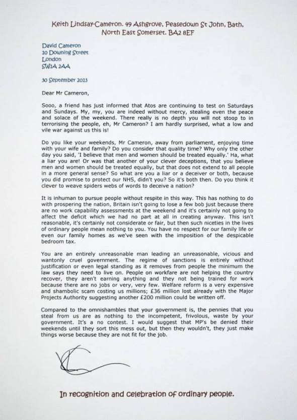 Letter to number 10. No 524.