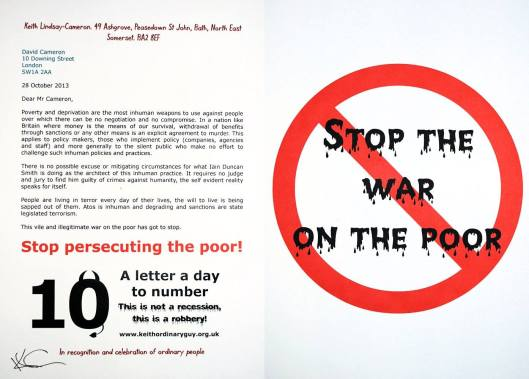 Stop the war on the poor.