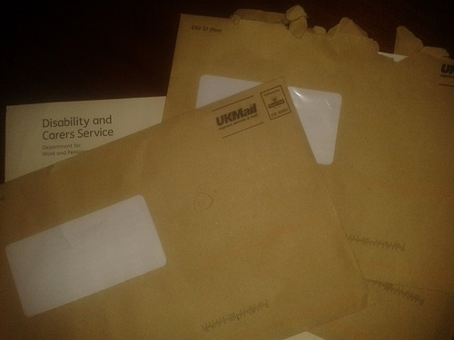 brown envelpe